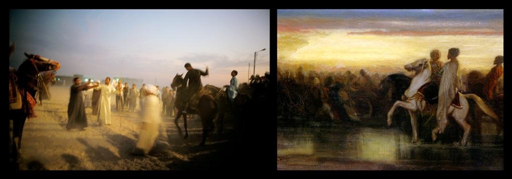 the horse races, egypt by nan goldin