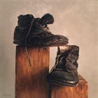 antique shoe boxes by michael naples