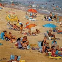 zig zag beach by roxann poppe leibenhaut