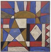 arte constructivo con sol y estrellas by joaquín torres garcía