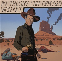 cliff opposed violence by bill schenck