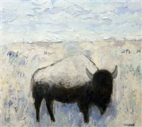 gallatin buffalo #2 by theodore waddell