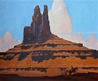 sandstone spires by dennis ziemienski