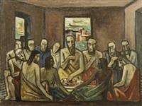 last supper by bror julius olsson nordfeldt