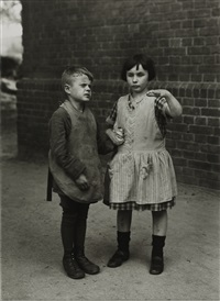 children born blind by august sander