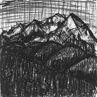 aspen 6 weeks: charcoal 9 by jennifer bartlett
