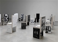installation view, lisson gallery, london by art & language
