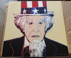 uncle sam fs#259 by andy warhol