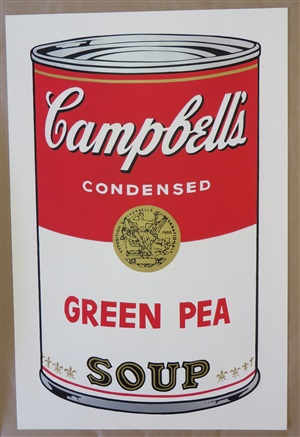 green pea soup #50 by andy warhol