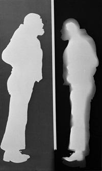 contatto con la superficie sensibile, michelangelo pistoletto by claudio abate