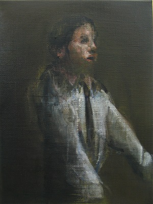 study of a figure by nikos aslanidis