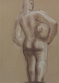 study for the fount by frank dobson