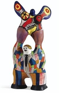 le poète et sa muse by niki de saint phalle