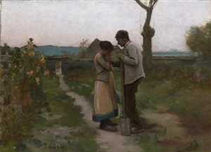 le chagrin by louis welden hawkins