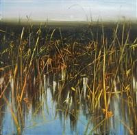 solitude on the horizon (sold) by david allen dunlop