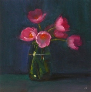 tulips by susan nally