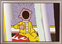 reflections on the scream (from the reflections series) by roy lichtenstein