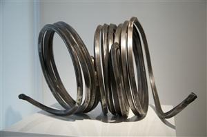 three indeterminate lines by bernar venet