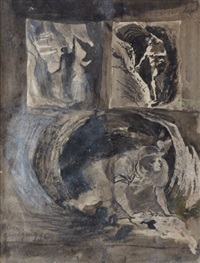 untitled (miner emerging from a stope) by graham sutherland