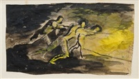 probing a steel furnace by graham sutherland