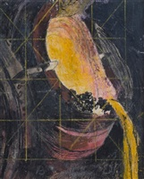 mouth of a molten iron container by graham sutherland