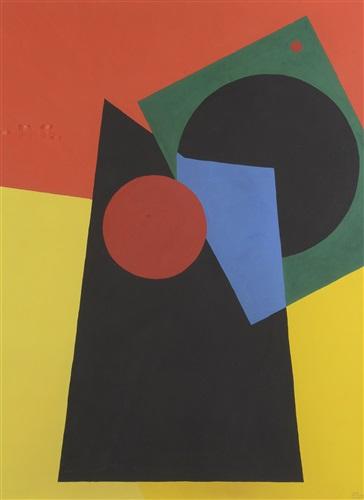 composition abstraite by etienne (istván) beöthy