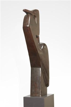 'grand oiseau' ou 'héron' by joseph csaky