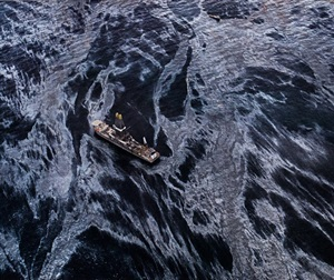 oil spill #2 discoverer enterprises, gulf of mexico, may 11 2010 by edward burtynsky