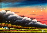 storm front - fly away by william dunlap