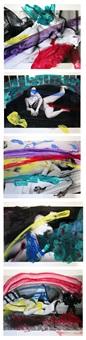 shiki-in (color eros) - lot de 31 à 35 by nobuyoshi araki