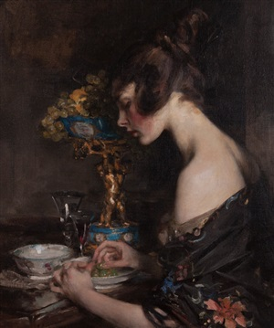 the sevres vase by james jebusa shannon