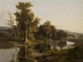 morning on the upper hudson by james mcdougal hart