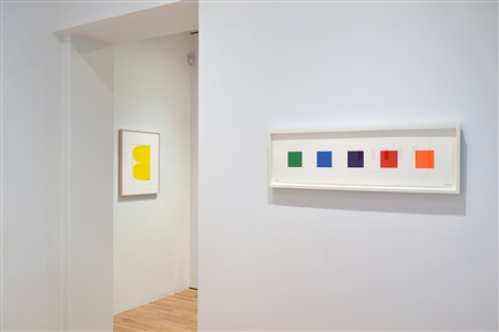 ellsworth kelly selected works installation view