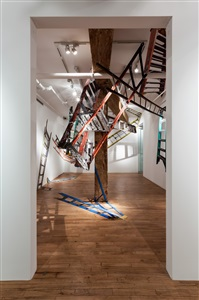 jennifer williams ladders installation view