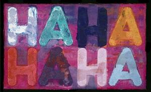 ha ha by mel bochner