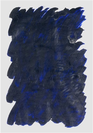 quantità di blu by antonio scaccabarozzi