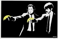 pulp fiction by banksy