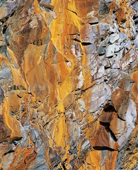 orange cliff mosaic, utah by christopher burkett