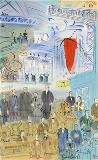 la fee electricite (iv) by raoul dufy