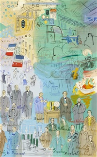 la fee electricite (iii) by raoul dufy