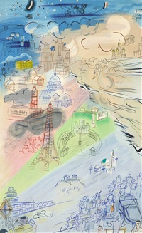 la fee electricite (i) by raoul dufy