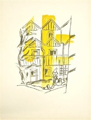 la ruche (hive), from la ville series by fernand léger