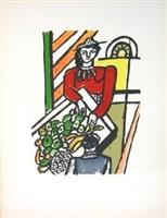 la marchande des quatre saisons (the merchant of four seasons, from la ville series by fernand léger