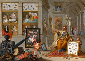 allegory of europe by jan van kessel the elder