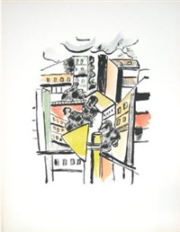 les toits (roofs) by fernand léger