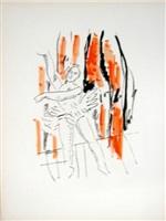 la danseuse (the dancer), from la ville series by fernand léger