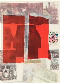 why you can't tell by robert rauschenberg