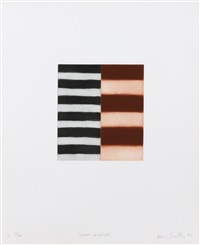 seven mirrors (7) by sean scully