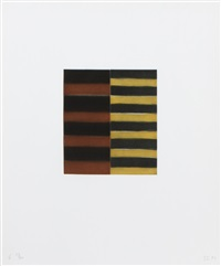 seven mirrors (6) by sean scully