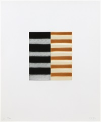 seven mirrors (3) by sean scully